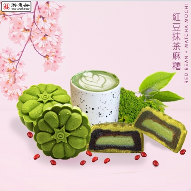 Mochi Red Bean + Matcha V4
